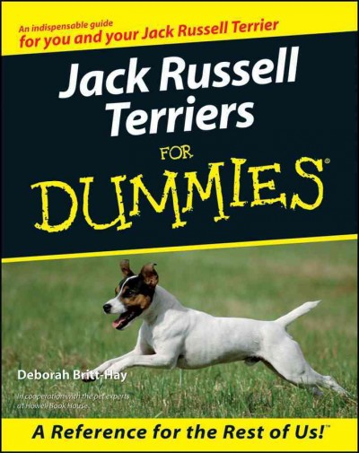 Jack Russell Terriers For Dummies cover