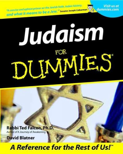Judaism For Dummies cover