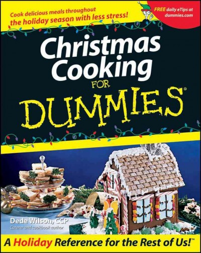 Christmas Cooking For Dummies cover