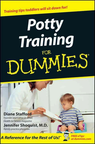 Potty Training For Dummies cover