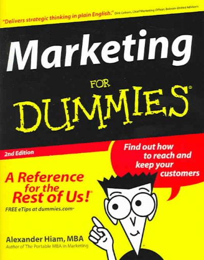 Marketing For Dummies cover