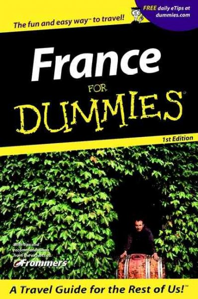 France For Dummies? (Dummies Travel) cover