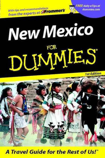New Mexico For Dummies? (Dummies Travel) cover