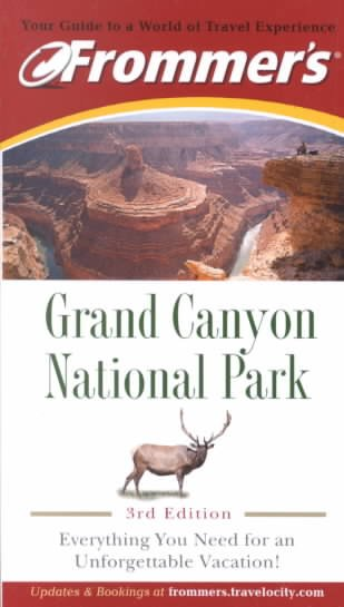 Frommer's Grand Canyon National Park cover