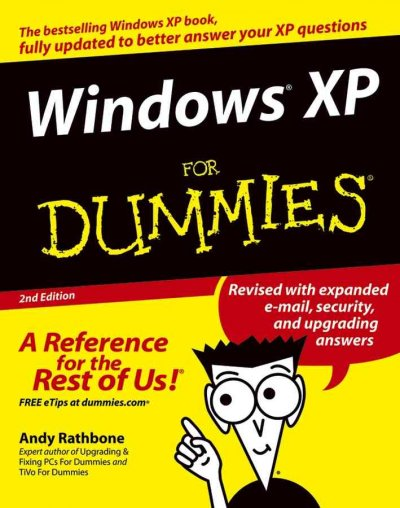 Windows XP For Dummies cover