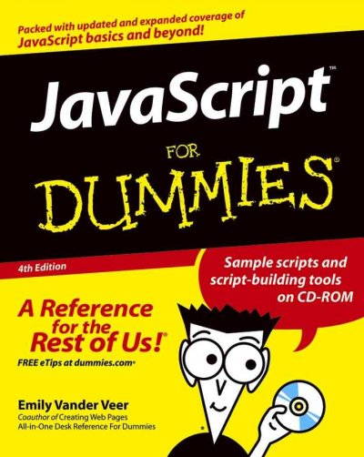 JavaScript For Dummies cover