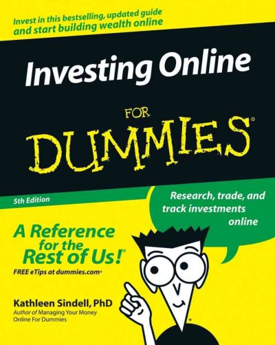 Investing Online For Dummies cover