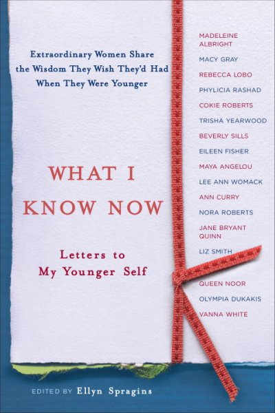 What I Know Now: Letters to My Younger Self cover