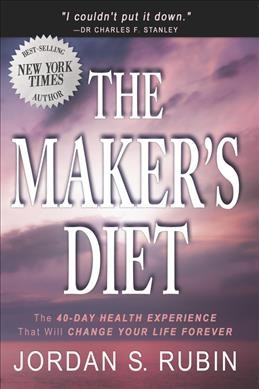 The Maker's Diet cover
