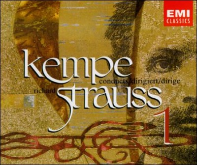 Kempe Conducts Richard Strauss, Vol. 1 cover