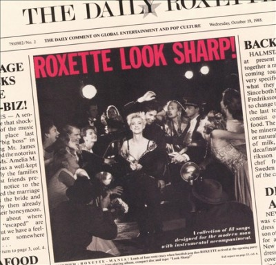 Roxette Look Sharp! cover