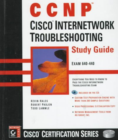 CCNP: Cisco Internetwork Troubleshooting Study Guide cover