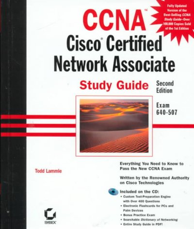 CCNA Cisco Certified Network Associate : Study Guide (with CD-ROM) cover