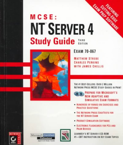 MCSE: NT Server 4 Study Guide, 3rd edition cover