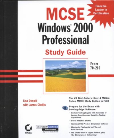 MCSE: Windows 2000 Professional Study Guide Exam 70-210 (With CD-ROM) cover
