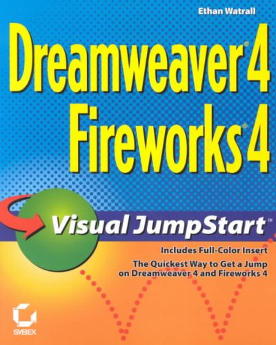Dreamweaver 4/Fireworks 4 Visual JumpStart cover