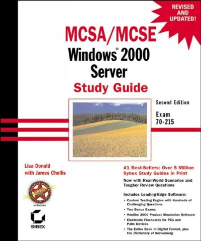 MCSE: Windows 2000 Server Study Guide (2nd edition) cover