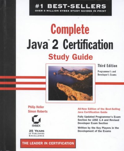 Complete Java 2 Certification Study Guide (3rd Edition) cover