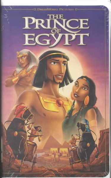 The Prince of Egypt [VHS] cover