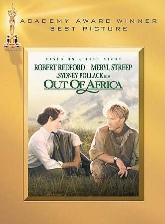 Out of Africa cover