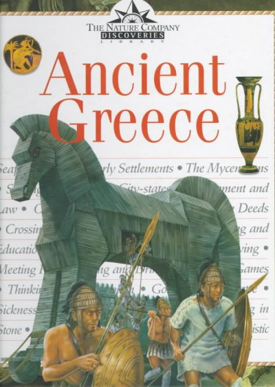 Ancient Greece (Nature Company Discoveries Libraries) cover