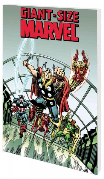 Giant-Size Marvel TPB cover