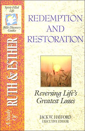 The Spirit-filled Life Bible Discovery Series B4-redemption And Restoration cover