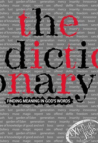 The Dictionary Finding Meaning In God's Words cover