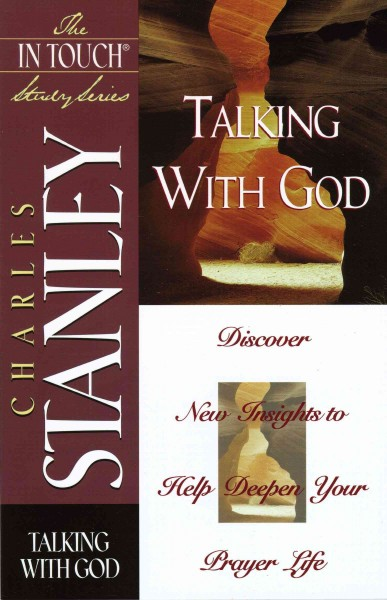 In Touch Study Series,the Talking With God cover