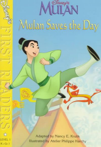 Mulan Saves the Day (Disney's First Readers, Level 1) cover