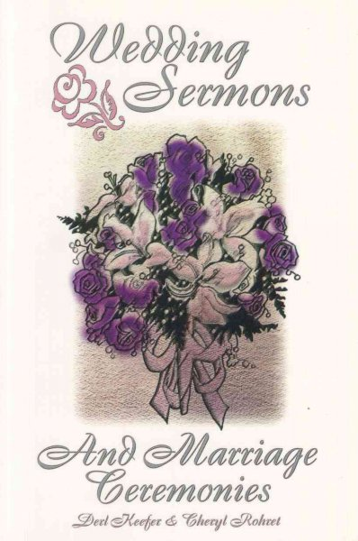 Wedding Sermons and Marriage Ceremonies cover