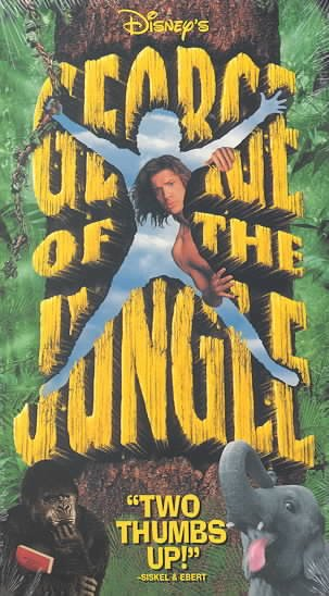 George of the Jungle [VHS] cover