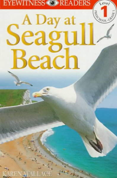 DK Readers: Day at Seagull Beach (Level 1: Beginning to Read) cover