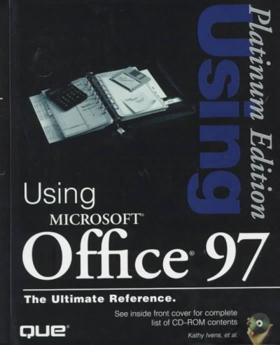 Using Microsoft Office 97 (Platinum Edition Using) cover