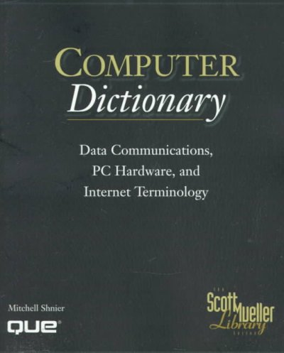 Scott Mueller Library - Computer Dictionary cover