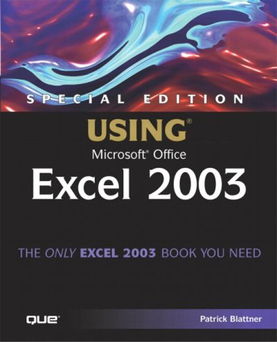 Special Edition Using Microsoft Office Excel 2003 cover