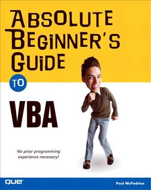 Absolute Beginner's Guide to VBA cover