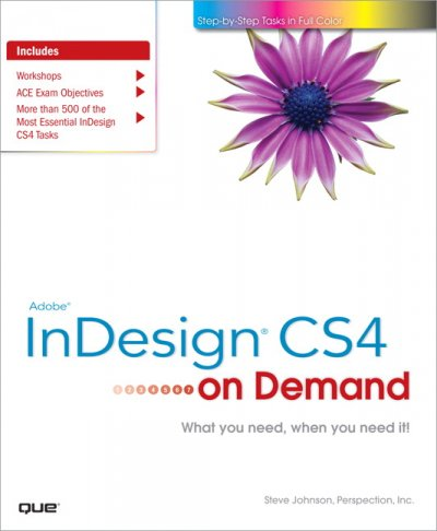 Adobe InDesign CS4 on Demand cover
