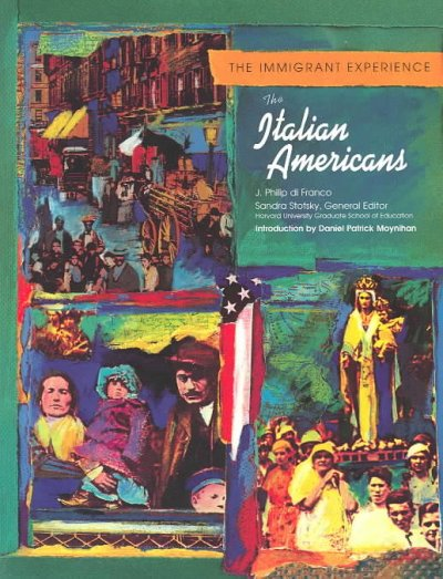 The Italian Americans (Immigrant Experience) cover