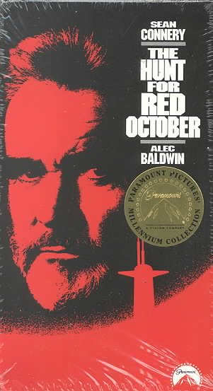 Hunt for Red October [VHS] cover