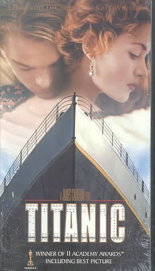 Titanic [VHS] cover
