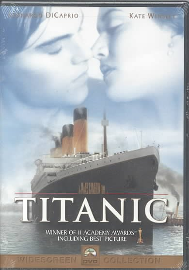 Titanic (DVD) cover
