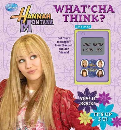 Disney Hannah Montana What'cha Think? cover