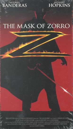 The Mask of Zorro [VHS] cover