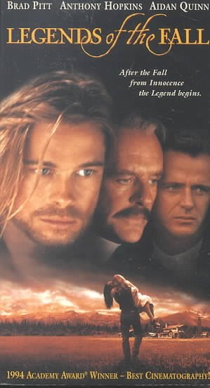 Legends of the Fall [VHS] cover