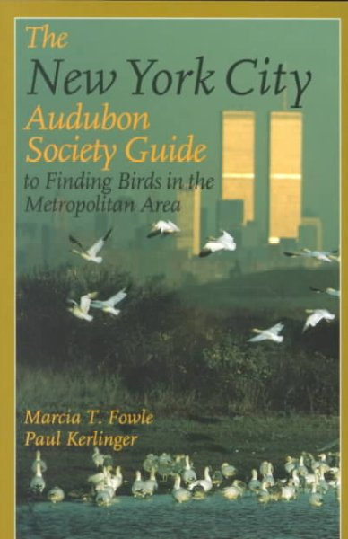 The New York City Audubon Society Guide to Finding Birds in the Metropolitan Area (Comstock Book) cover