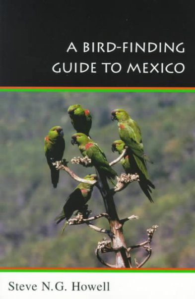 A Bird-Finding Guide to Mexico (Comstock Books) cover