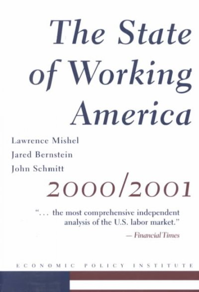 The State of Working America 2000-2001 cover