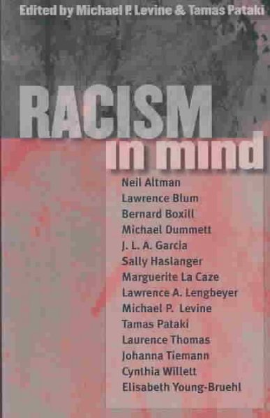 Racism in Mind cover