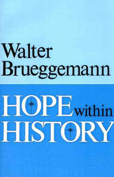 Hope within History cover